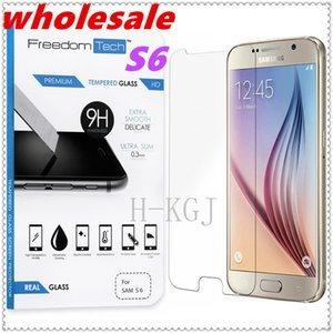 wholesale Premium Ultra Thin Tempered Glass Screen Protector Film For Samsung Galaxy S6