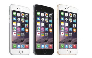 Débloqué Apple iPhone 6 Plus d'empreintes digitales support de 16 Go 5.5 Écran IOS 8 WCDMA 3G 4G LTE 8MP caméra rénové Téléphone mobile