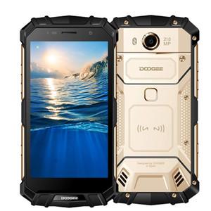 """Doogee s60 ip68 4g cep telefonları android 7.0 6 gb + 64 gb sekiz çekirdekli smartphone 1080 p kablosuz hızlı şarj şarj 5.2 """"nfc cep telefonu"""