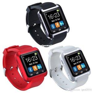 Bluetooth relógio inteligente Moda Casual Android relógio digital de pulso esporte LED Watch par para iOS Android Phone U8 U9 U80 Smartwatch