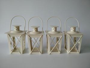 castiçais Branco / Black Metal Ferro candelabros casamento lanterna candelabros centrais do casamento marroquino lanternas vela lanterna