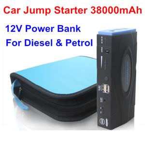 Alta qualità 38000mAh multifunzione Car jump starter caricabatteria per auto batteria cellulare Power Bank Laptop batteria ricaricabile