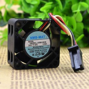 Alarm sürücü adanmış fan NMB 1608KL-05W-B39 0.08A 4CM 40 * 40 * 20 24V 3 telli