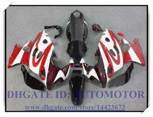 100% nagelneu Hochwertiger Verkleidungssatz passend für Suzuki GSX600F / 750F 1997-2005 GSX 600F GSX750F 1998 1999 2000 2001 # KS992 ROT WEISS