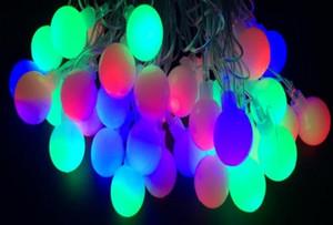 LED 10m luci della stringa con la palla 50LED vacanza AC220V lampada della decorazione Festival di Natale luci di illuminazione esterna
