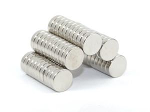 도매 - 주식 100pcs 강한 둥근 NdFeB 자석 Dia 8x2mm N35 희토류 네오디뮴 영원한 기술 / DIY 자석 무료 배송