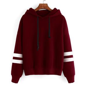 Wholesale nouvellement élégant Automne Hooeded Sweatshirt Femmes Broderie Fleur à manches longues Pullorover Streetwear Sweats à capuche neuve
