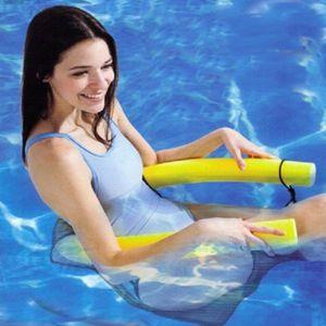 2017 nouvelle nouveauté couleurs vives chaise de flottement piscine sièges de piscine incroyable lit de flottement chaise chaise de nouilles gros