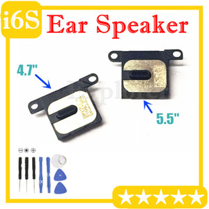 """10pcs Para Iphone 6S acrescida de 5,5"""" polegadas orelha alto-falante peças de substituição Speaker chamada Inner Fone de ouvido fone de ouvido Receptor Módulo Flex Cable Parte"""