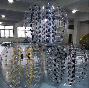 مجنون الكرة الرياضية 1.2 متر الإنسان نفخ الوفير كرات الاطفال في الهواء الطلق اللعب لعبة كرة القدم الكرة pvc فقاعة كرات نفخ زورب الكرة
