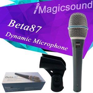 Hochwertiges Beta 87A-Supernieren-Dynamisches Gesangsmikrofon mit Mikrofon 87 Ein Mikrofone-Mikrofon mit erstaunlichem Klang