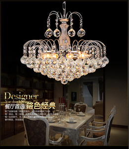 فاخر كريستال الثريات مصباح E14 الحديثة الثريا زجاج أضواء LED معلق قلادة مصباح غرفة نوم الديكور غرفة تناول الطعام
