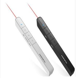 Yeni Varış Knorvay USB Kablosuz PPT Uzaktan Kumanda Lazer Pointer Presenter PC powerpoint PPT Presenter Sayfa dönüm Kalem