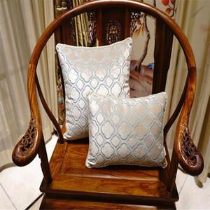 cojines de terciopelo bordado caliente de las ventas de lujo de la cubierta Funda de almohada Textiles para el Hogar suministra almohada lumbar asiento de la silla