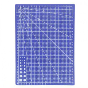 30*22cm Blue Professional Durable Non-Slip PVC Cutting Mat - Great for Scrapbooking, Quilting, Sewing and all Arts & Crafts Projects