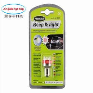 Beep Reverse Alarm / Buzzer Light LED Luce retromarcia Car Led Rogue Lamp Indicatore di direzione Reverse Back Tail Light White