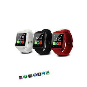 CE Наручные часы Силиконовые ремешки Smart Watch U8 U8 Дешевые Поддержка Bluetooth Speaker Android Мобильный телефон 2020 Часы RoHS PVRRC