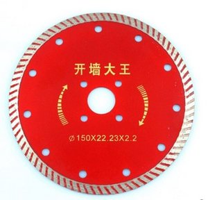 Electric tool accessories 150MM diamond cutting blade slotted wall saw blade