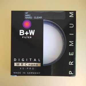High quality B+W 67mm UV Filter XS-PRO MRC Nano Haze Protective mirror Multi-Resistant Coating (MRC) Protect the lens 67 mm For Camera Lens