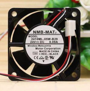 Ventola inverter originale NMB 2410ML-05W-B30 6025 6CM 0.08A 24V 3 line