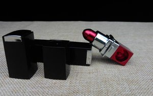 Stealth Pipe Metallpfeife Lippenstift Rohr Portable Metall Herb Tobacco Rauchen Rohre Mini Rohr beste Qualität