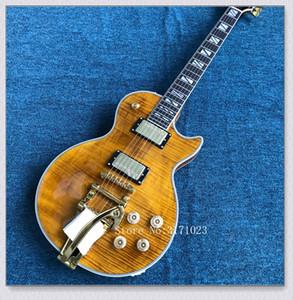 Custom shop Honey Sunburst Tremolo vibrato guitare électrique Chine Guitare