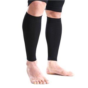 Wholesale- Protectores de pantorrillas de pantorrillas de la manga Calcetines de la pierna de la manga Guardia almohadilla protectora Pierna Movimiento de la pierna Accesorios de protección1 pares