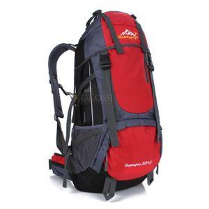 Alta Qualidade 55L Extral Load Professional Mochila Ao Ar Livre Caminhadas Camping Mochila Daypack Viagem Saco De Volta Pac