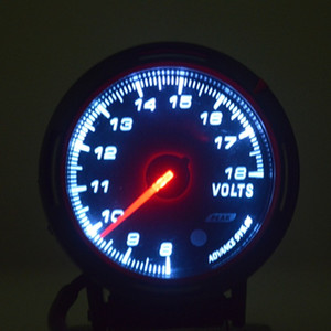 HOT! 새로운 유니버셜 카 오토 게이지 전압 볼트 PSI 압력 진공 게이지 미터 새로운 무료 배송