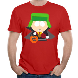 Augmenter la taille T-shirt populaire Funny T-shirt pour hommes 3D Cartoon Cartoon Shirt Coton naturel à manches courtes Tee Shirt 3XL confortable