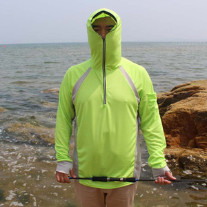 Wholesale-High quality shirt blue yellow white uv resistant breathable perspiration fishing sun-protective clothing
