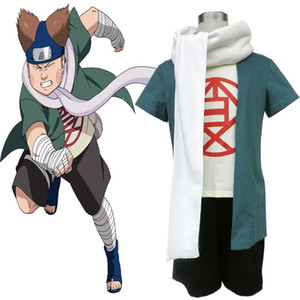 High Quality Naruto 1nd Generation Version Cosplay Akimichi Choji Cosplay Costume Full SET Pertty Clothing For Halloween Christmas Party