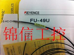 KEYENCE FU-49U Faseroptik-Sensor reflektierende Faser-Einheit Brand New Quality Garantie für ein Jahr