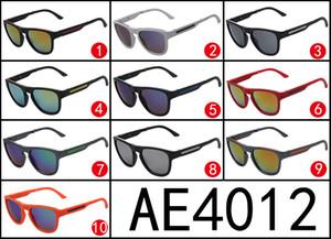 Las gafas de sol plegables del estilo de la venta caliente Europa y de Estados Unidos deslumbran las gafas de sol superficiales del espejo del color AE4012