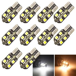 T10 16-2835 smd led Luces blancas LED Coche 12V Cúpula de lectura Marcador lateral ancho Matrícula Lámpara bombilla w5w 194 2825
