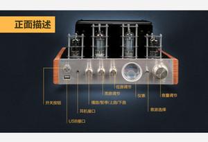 Freeshipping nobsound MS-10DMKII مركبتي 2.0 فراغ أنبوب مكبر للصوت usb / بلوتوث المنزل الصوت مكبر للصوت 25 واط * 2 110 فولت / 220 فولت الإصدار كلا للمبيعات