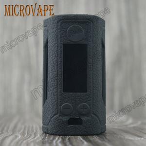 Eyc 13 Farben Asche frei neue Silikon Wismec RX Gen3 Abdeckung Wismec Reuleaux RX GEN3 Box Mod mit OLED-Display 300W TC
