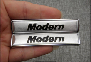 """Задние боковые буквы багажника """"Modern"""", наклейка с эмблемой 2шт для BMW 3 5 серии"""