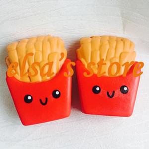 squishies wholesale 20pcs kawaii squishy jumpo 감자 튀김 냄새가 나는 스퀴즈 느린 감자 튀김 장난감 튀김 무료 배송
