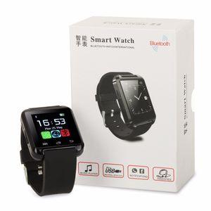 Usine en gros U8 smartwatch avec boîte de détail moins cher Bluetooth Smart Watch Phone Mate Pour Android IOS Iphone Samsung LG Sony
