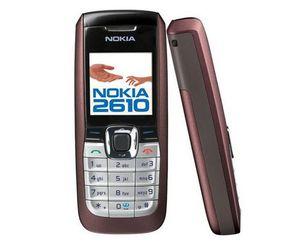 Original Nokia 2610 English Russian Arabic Keyboard 2G GSM 900 1800MHz Dual Band Multi-Language Refurbished Mobile Phone