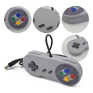 Snes Classic GamePad Joystick Joypad Controller USB-Anschluss Wired Gamepads Für SNES-Style-Spiele für Windows PC Tablet