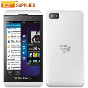 """2016 top fashion apressado original 1080 p original blackberry z10 telefone móvel 4.3 """"capacitivo para touchscreen rom 16 gb dual-core 1.5 ghz"""