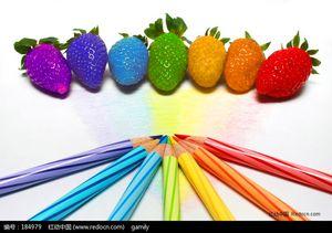 Mélange de graines de fraises Graines de fruits nutritives et délicieuses DIY Home Bonsai Tree 100 Particules / lot