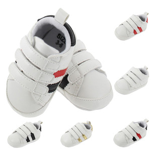 Hot sale baby shoes PU Leather toddler first walker soft soled girls shoes Newborn 0-1 years baby boys Sneakers