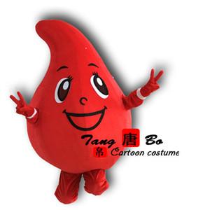 عيد الحب الأحمر قطرة من الدم التميمة حلي الكرتون تنكرية! شحن مجاني