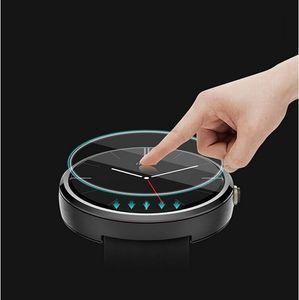 Vidrio templado 2.5D 9.0H universal redondeado redondo reloj D23 A D46 mm de diámetro los 23MM 300pcs 46mm / lot