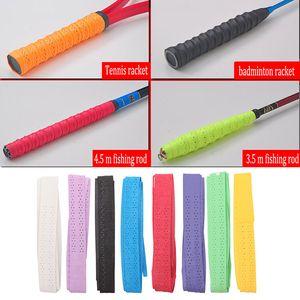 10X Banda antisdrucciolo antiscivolo Tennis Badminton Manico per racchetta Impugnatura Canna da pesca Banda Articoli sportivi