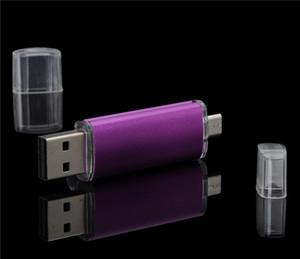 안드로이드 ISO 스마트 폰 정제를위한 64GB 128GB 256GB OTG 외장형 USB 2.0 플래시 드라이브 메모리 PenDrives U Disk Thumbdrives 01