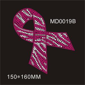 Mix renk kristal pembe Kurdele moda rhinestone transferi konfeksiyon DIY üzerinde kendinizi 30 parça keyfini çıkarın